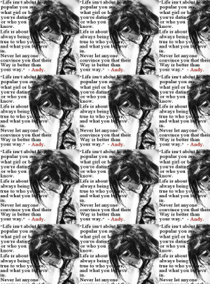 andy sixx quote