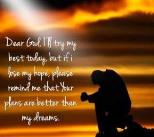 dear god.. I'll try my best
