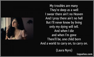 More Laura Nyro Quotes
