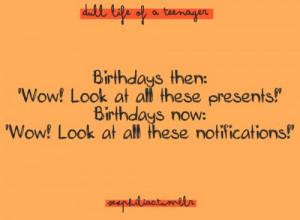 typo #typography #quote #funny #lol #birthday #facebook
