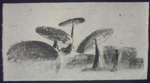 Harry Bertoia Mono Print