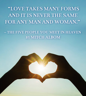 14. The Five People You Meet in Heaven by Mitch Albom