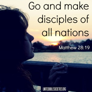 Inspirational Bible verses for missions and evangelism