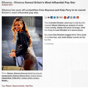 Did Rihanna Just Diss Beyonce And Katy Perry On Instagram ? [DETAILS]