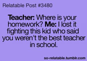 true teacher school jokes joke teen quotes relatable so relatable