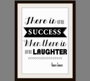 Inspirational Quote Wall Art, Black and White Decor, Laughter Quotes ...