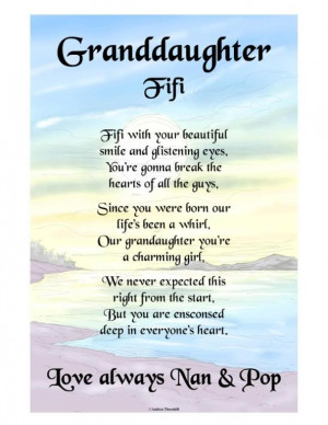 Granddaughter Poems