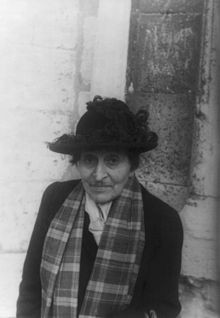 ... years to understand the things she's said tonight. ~ Alice B. Toklas