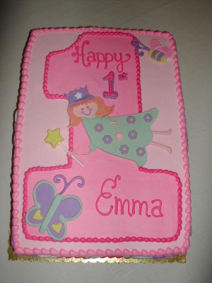 Fairy Princess 1st Birthday