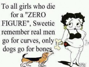 any different than skinny women saying 'to all the girls who are fat ...