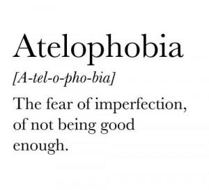 fear good enough life quotes