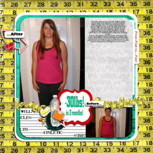 FREE Digital Scrapbooking Quick Page