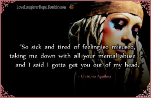 Back > Quotes For > Christina Aguilera Quotes Tumblr