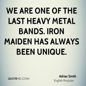 Heavy Metal Band Quotes