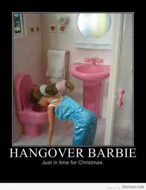 Hangover Barbie.. Loll.. :D