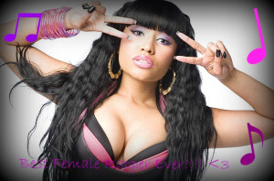 For Best Female Rapper And