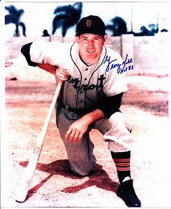 GEORGE KELL HOF Auto Autograph Signed Picture Photo 8X10 Detroit