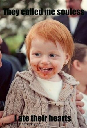 Souless Funny Redhead Ginger Joke