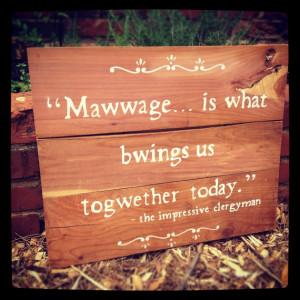 Princess Bride quote