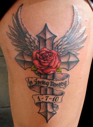 ... -loving-memory-a-beautiful-ross-and-cross-amazing-memorial-tattoo.jpg