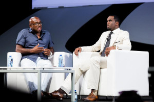 Steve Stoute and Sean 'Diddy' Combs