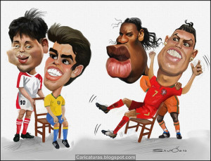 Funny Cristiano ronaldo Cartoons Pictures in worlds