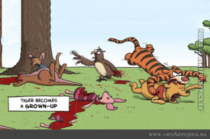 Funny Picture - funny-Tigger-eating-Winnie-the-Pooh