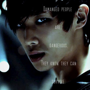 kpop quote inspirationalQuotes Inspirational, Danger, Damaged People ...