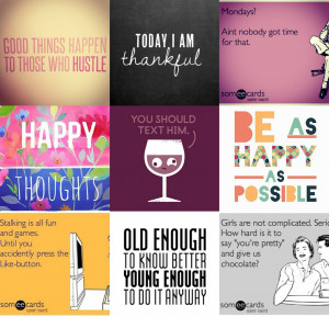 Cute Instagram Quotes For Selfies The 7 categories of instagram
