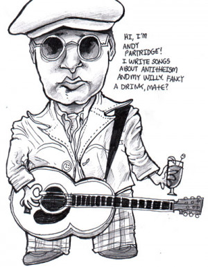 Andy Partridge by fig13