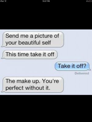 if only guys were really like this.