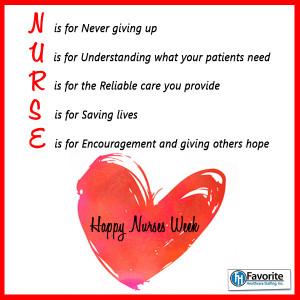 ... nurses and to nurses everywhere we appreciate all you do # nursesweek