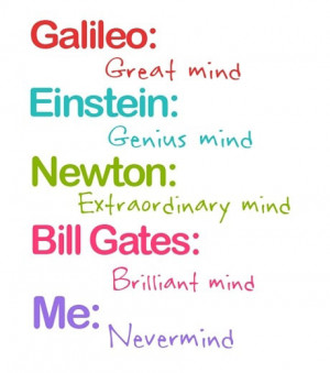 Funny photos funny mind Einstein Newton Galileo