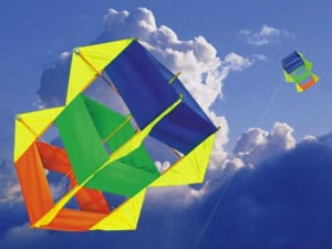 of different shapes. In the picture you can see an example of a kite ...