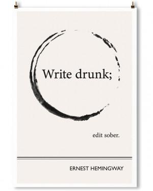 Inspiring Literature Quotes in Minimalist Posters