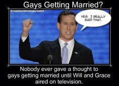 Rick Santorum, hypocrite, Republican, douchebag