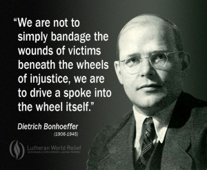 ... on dietrich bonhoeffer s book the cost of discipleship bonhoeffer was