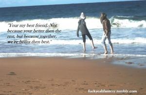 beach, best friend, best friends, bestfriend, bestfriends, blue, cute ...