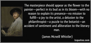 More James Mcneill Whistler Quotes
