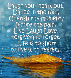 Life, laugh, love