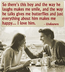 ... the following 'I love you' quotes for him. They'll definitely work