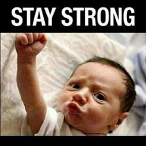 Stay strong #Friday is almost here!