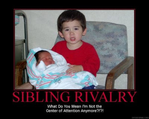 Sibling rivalry is normal and all so I get that but...