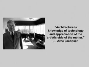 Via Leicht NY | Arne Jacobsen Quote