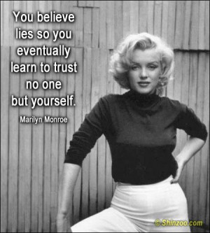 Quotes and sayings by Marilyn Monroe
