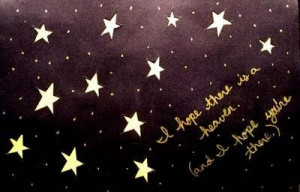 concept, love, purple, quotes, stars
