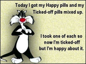 Mixed up my damn pills