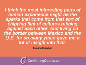 Quote Barbara Kingsolver