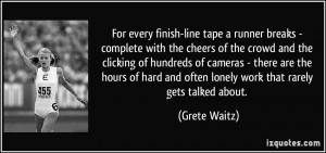 More Grete Waitz Quotes