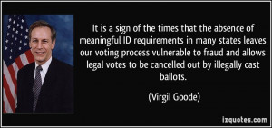 More Virgil Goode Quotes